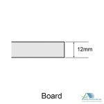 Плита потолочная Armstrong Bajkal Board 600x600x12 mm (BP9842M3C)